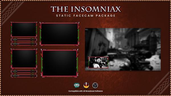 overlay package,preview4,insomniax,overlaytemplate.com