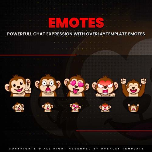 emotes,preview1,monkey,overlaytemplate.com