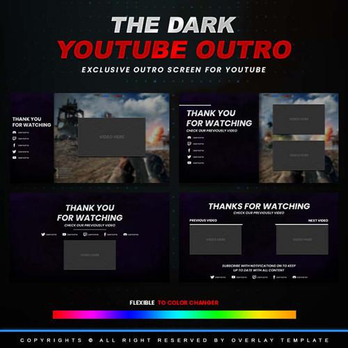 outro,preview,dark,overlaytemplate.com