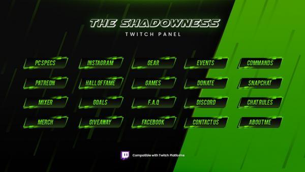 overlay package,preview5,shadowness,overlaytemplate.com